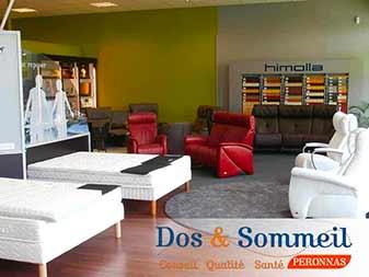 Magasin de literie Dos & Sommeil | Association des entreprises Porte Sud Péronnas