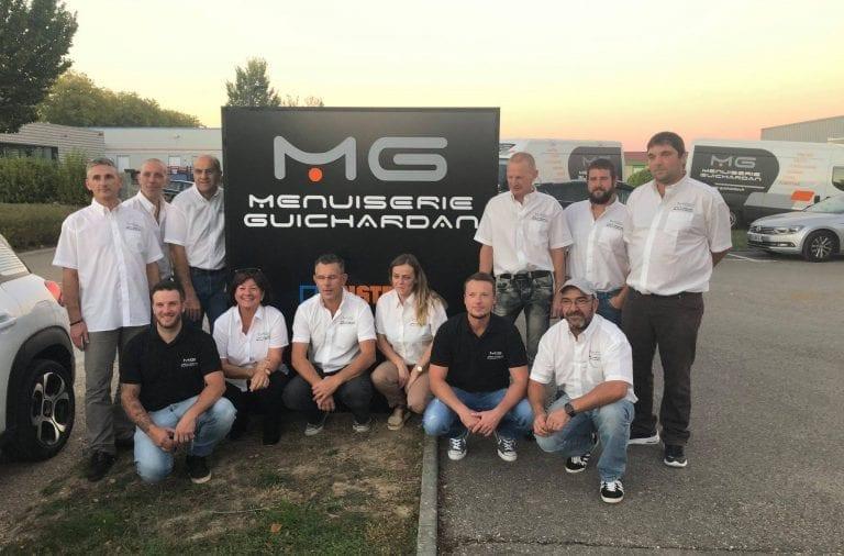 Menuiserie Guichardan | Association des entreprises Porte Sud Péronnas