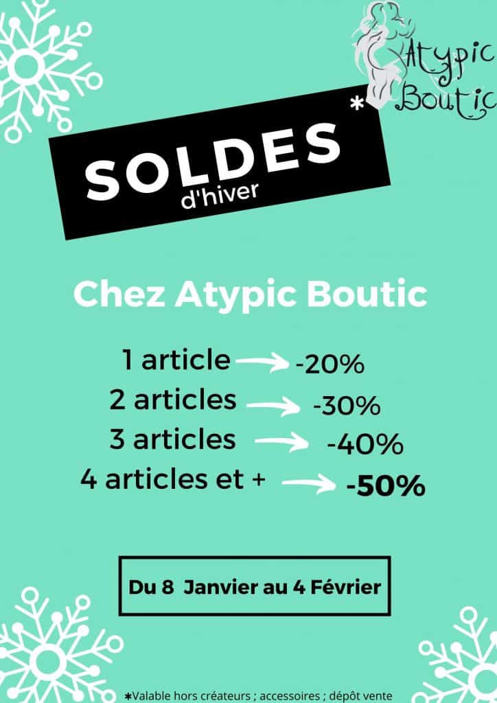 Soldes Atypic Boutic